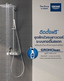Free Installation! - GROHE Thermostatic Shower System